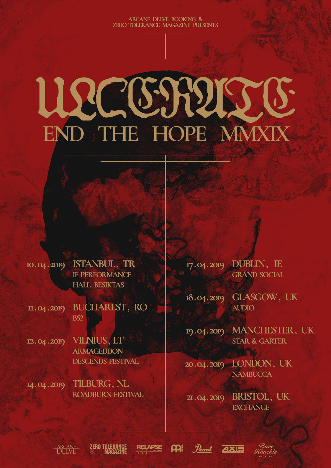 Ulcerate End the Hope MMXIX